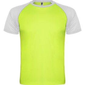 Verde Flúor + Blanco