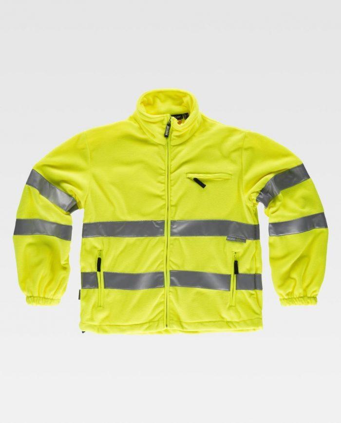 chaqueta polar alta visibilidad workteam