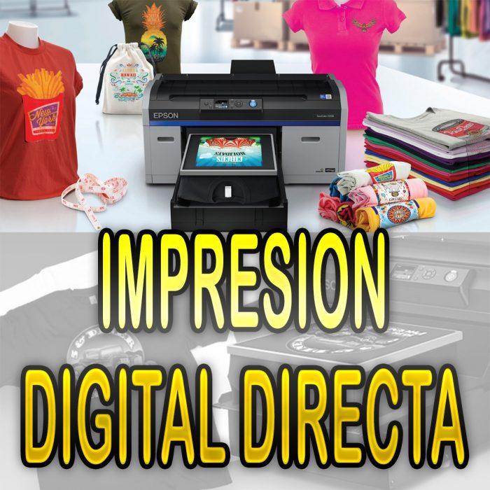 IMPRESIÓN DIGITAL DIRECTA
