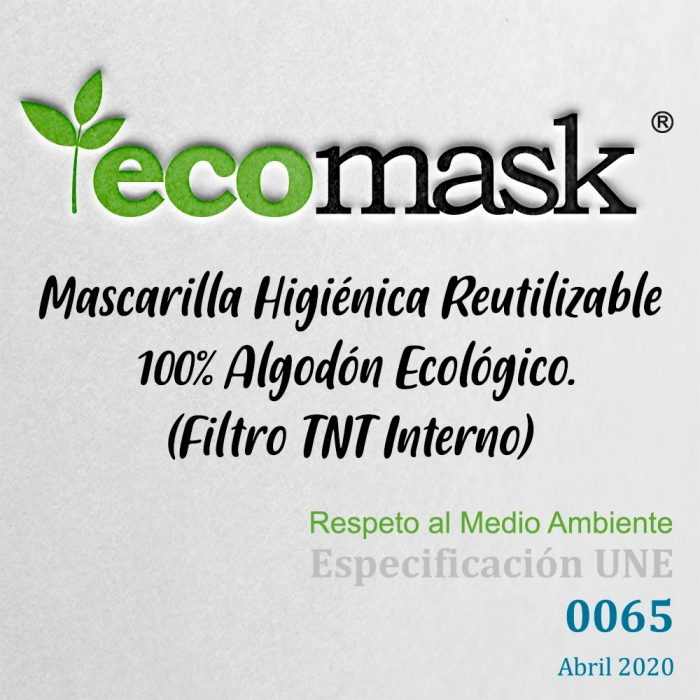 Ecomask™ SKULL&ROSES