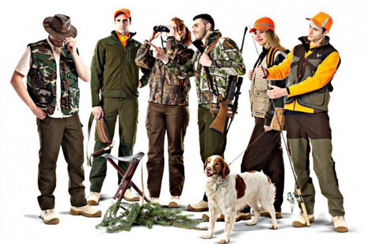 ropa de montaña y caza