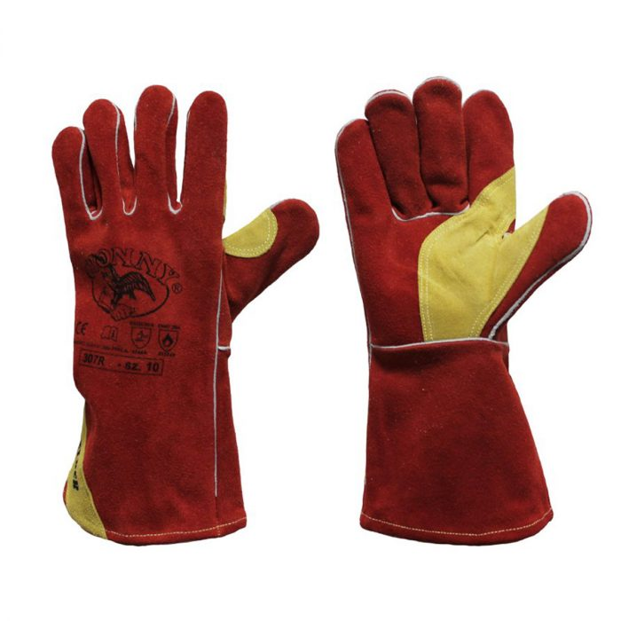 guantes anticalóricos para soldador