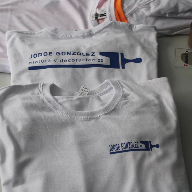 Camisetas personalizadas de pintor