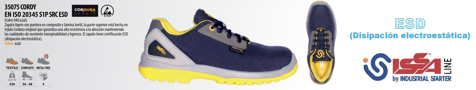 zapato de trabajo rotularte cordy